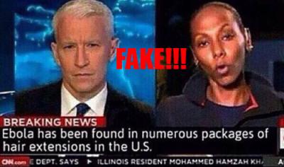 Fake Ebola News
