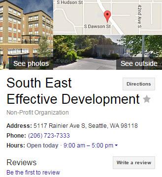 SE Seattle