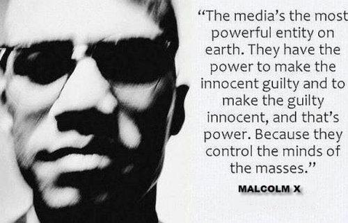 Malcolm X on Media