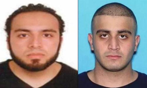 Ahmad Khan Rahami  & Omar Mateen.
