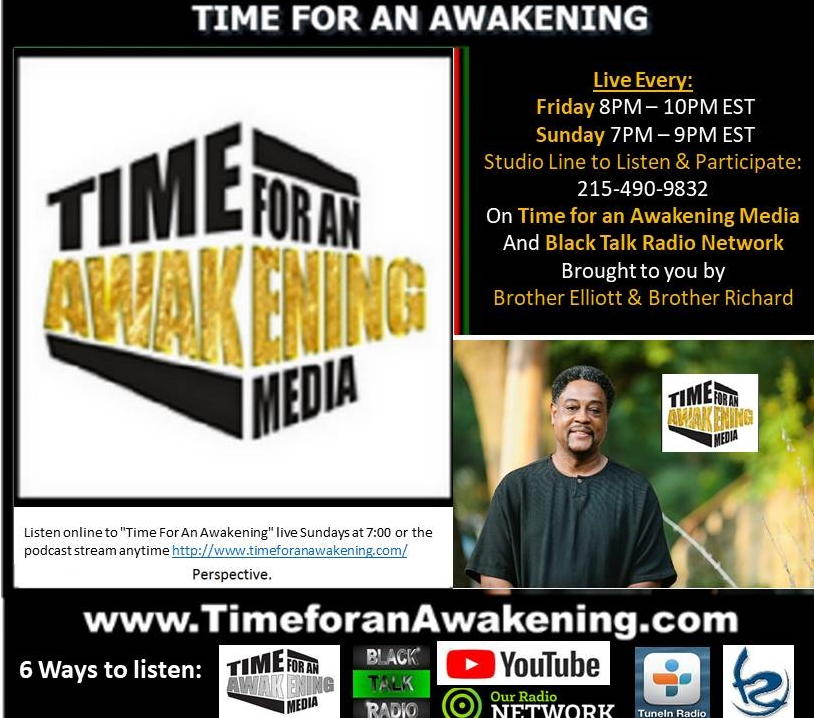 time for an awakening with bro elliott 1 28 2018 guest the
